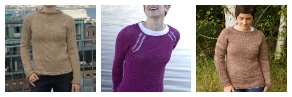 Top Down Sweater Patterns Knitting