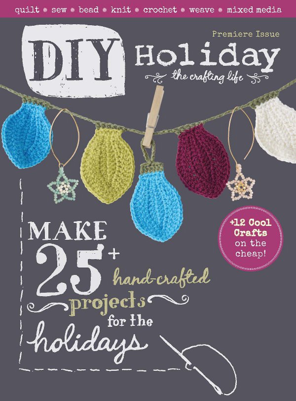 Win a copy of DIY Holiday magazine from Interweave/F+W.