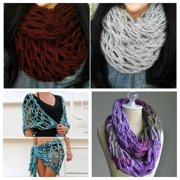 Quick arm knitting projects for gifts and beyond.