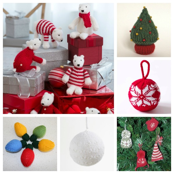 Christmas ornaments you still have time to knit