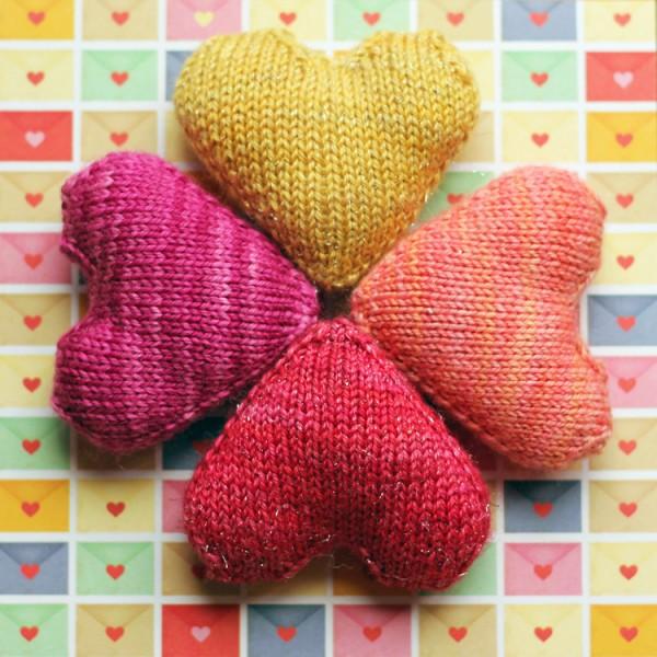 Knit A Little Heart Knitting