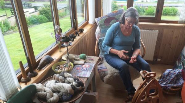 NPR story features Shetland Island knitters.
