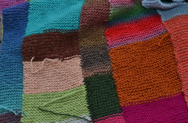 What to do with yarn scraps and leftovers