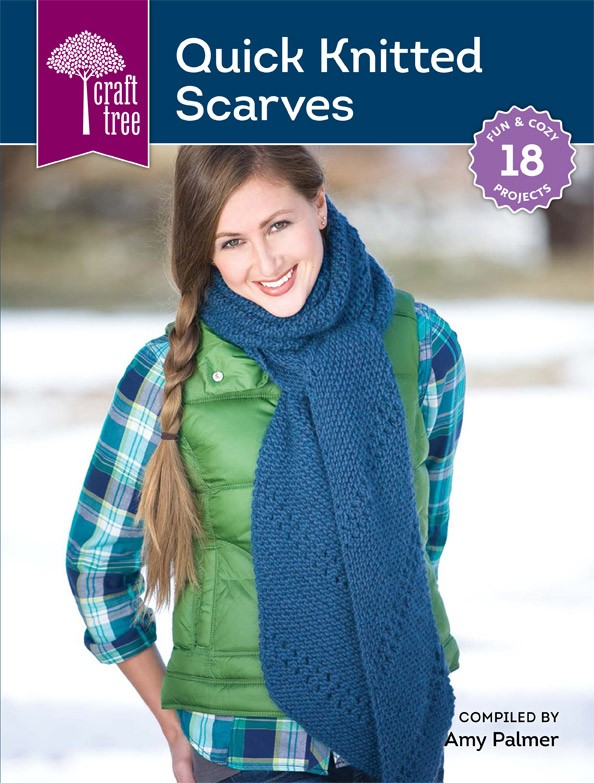 Quick knitted scarves by Amy Palmer