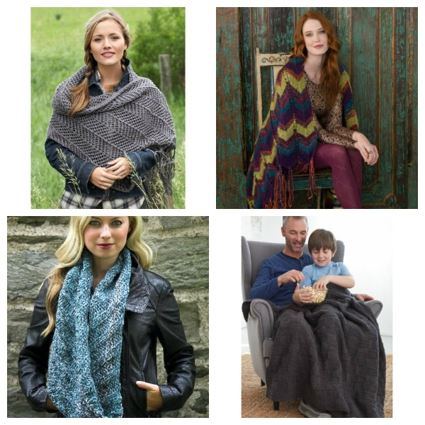 Knitting patterns using lots of textured stitches.