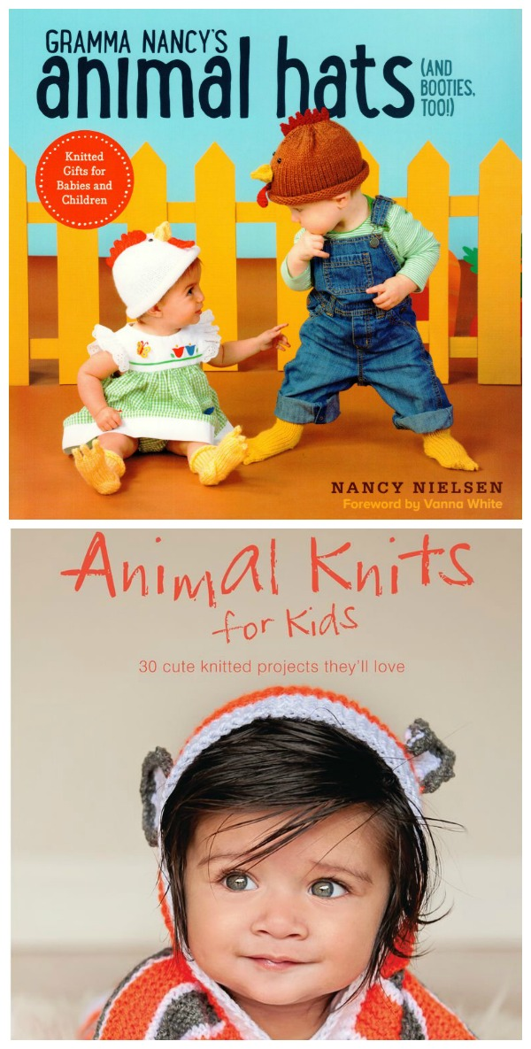 wina  copy of two sweet animal knits for kids books