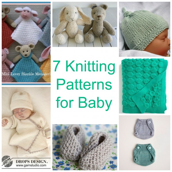 7 Knitting Patterns For Baby Knitting