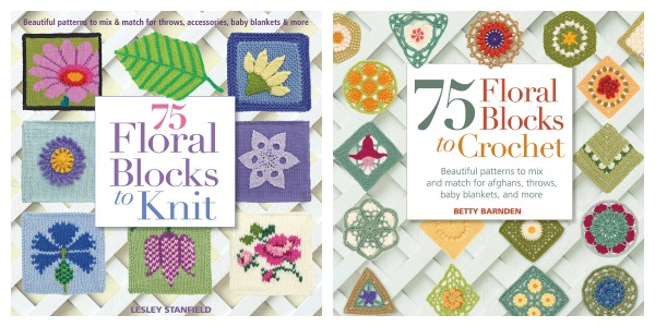 floral blocks to knit