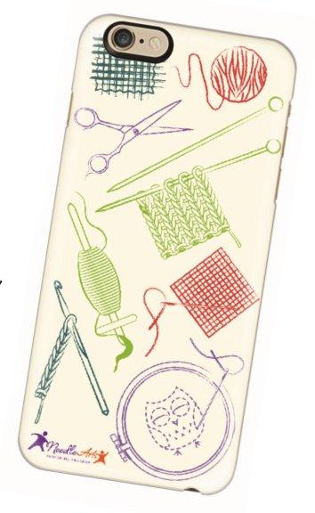 needle arts phone case