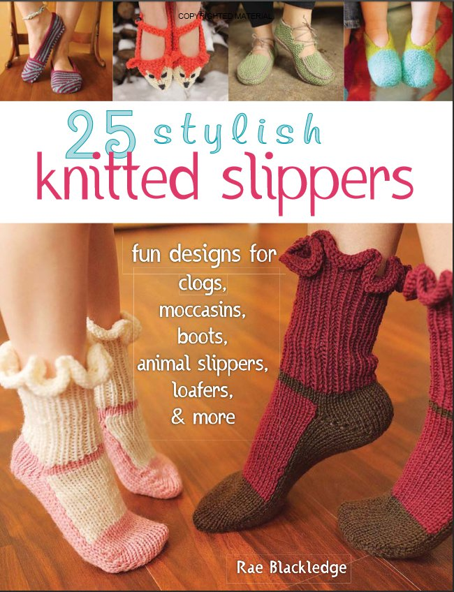 25 stylish knitted slippers giveaway