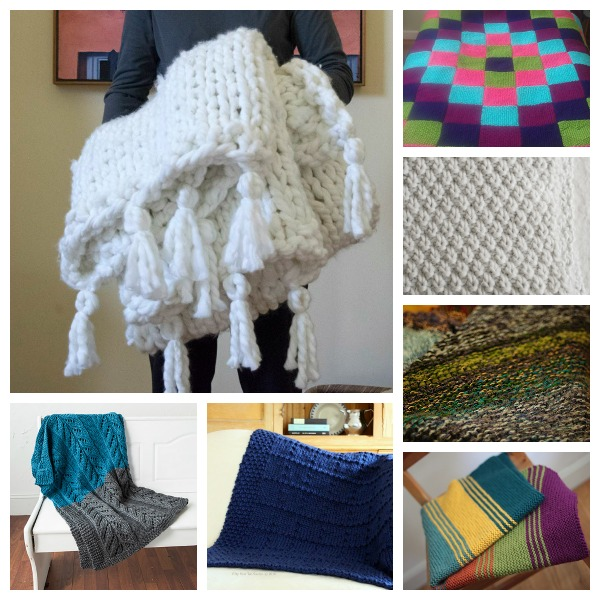 Chunky blanket knitting patterns