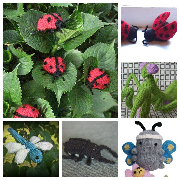 Insect Knitting Patterns