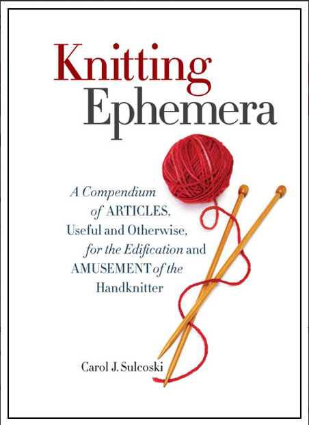 knitting ephemera book review