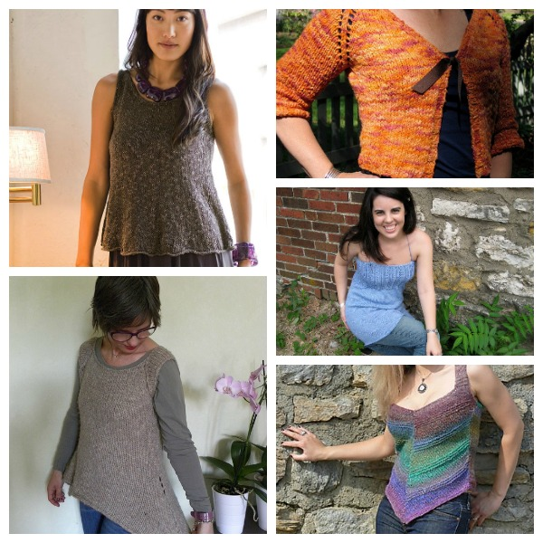 summer top knitting patterns
