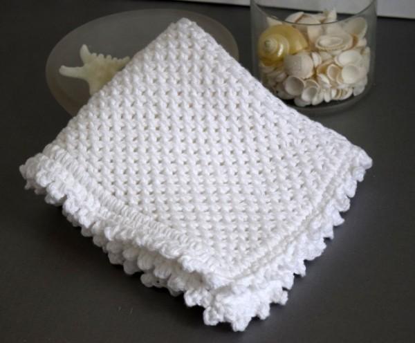 chinese wave washcloth