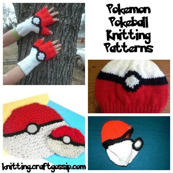 Allcrafts Knitting Patterns : Pokemon Knitting Patterns: Gotta Knit  Em All   Knitting