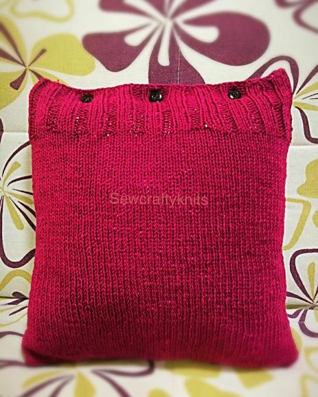 easy knit pillow case pattern