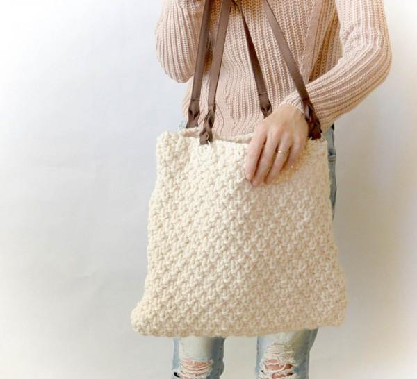 aspen mountain bag knitting pattern