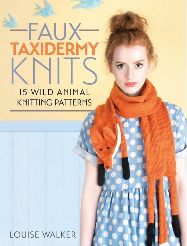 faux taxidermy knits giveaway