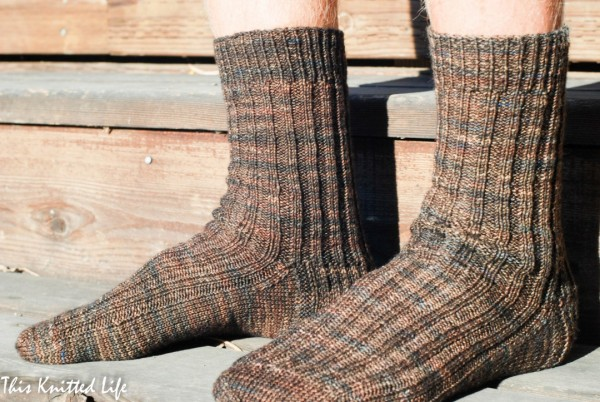How to knit a pair of socks more quickly.