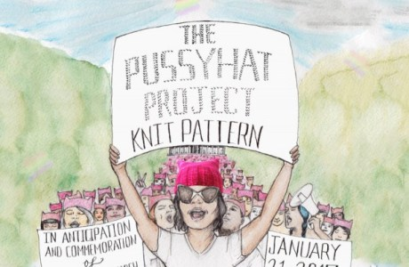 Knitting as Protest: The Pussyhat Project