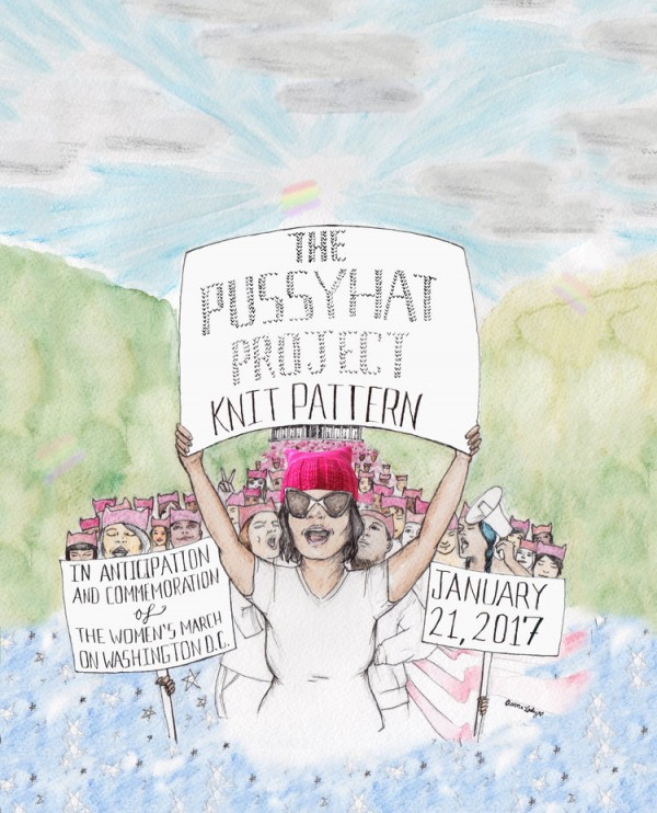 Pussyhat Project knits together protest and politics.
