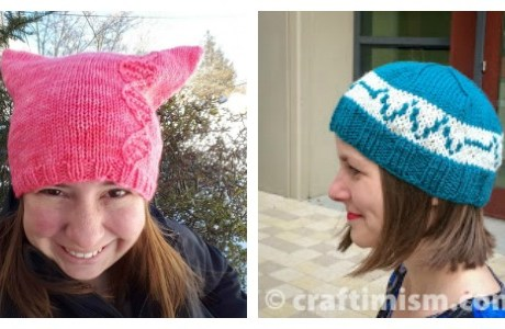 More Knit Hat Ideas for Science Marches
