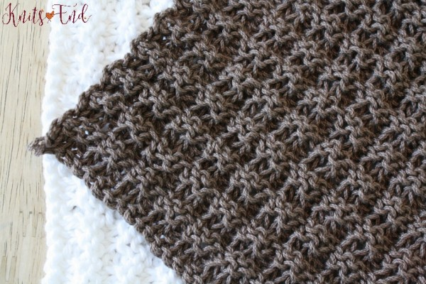 Dish Network Knitting : Knit a simple dishcloth in waffle stitch knitting