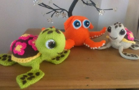 Love Finding Dory? Knit Squirt the Sea Turtle
