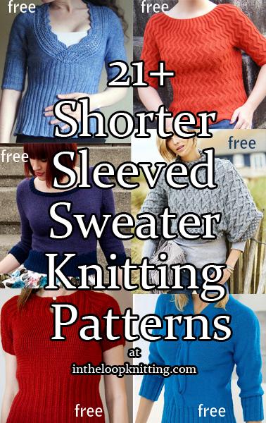 Time for Short-Sleeved Sweater Knitting