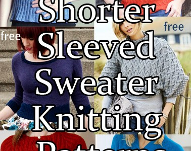 Time for Short-Sleeved Sweater Knitting