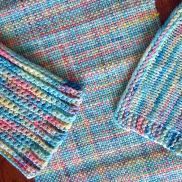 variegated yarn in different crafts