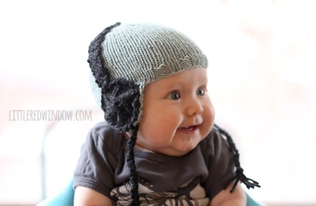 This May Actually Be the Cutest Knit Baby Hat Ever