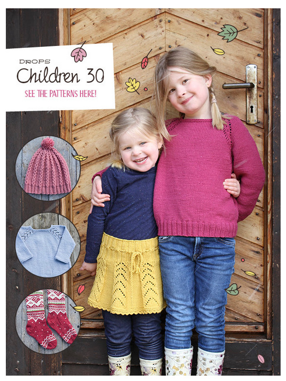 Have Kids to Knit for Check out the New DROPS Catalog