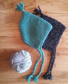 easy knit baby bonnet
