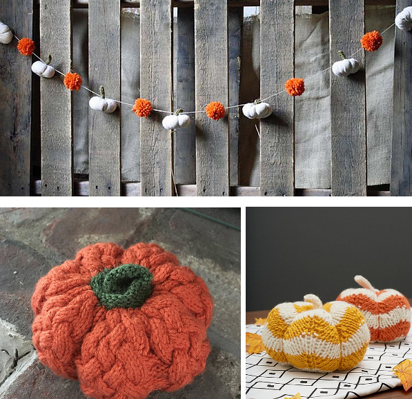 Pumpkins to Knit for Fall