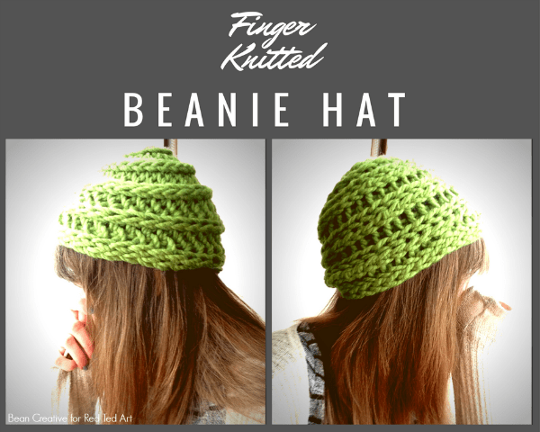 Got Kids Who Love Finger Knitting? Try Making a Hat