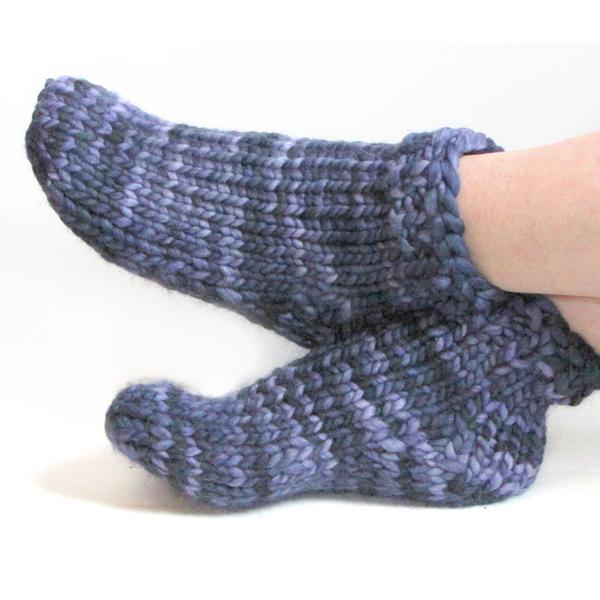 super bulky socks gift knitting