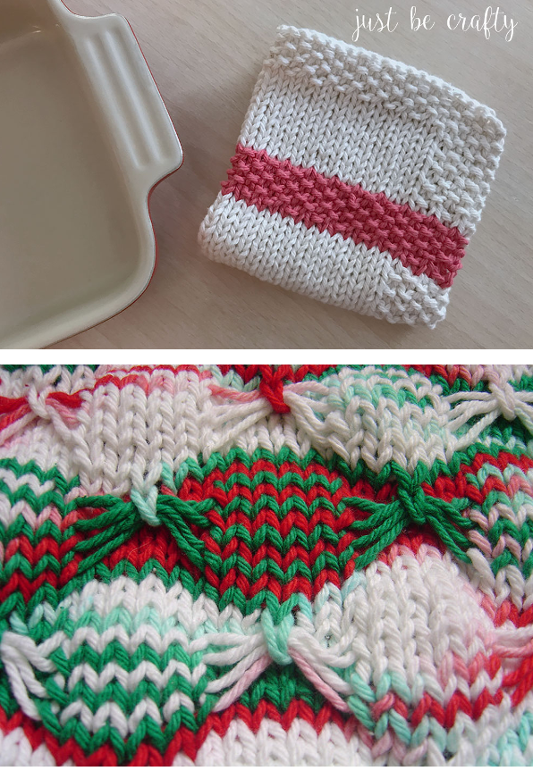 A Non-Holiday Dishcloth or Two