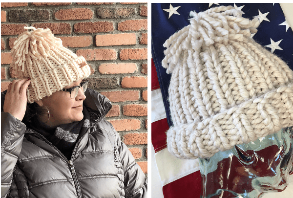 ribbed olympic hat knitting patterns