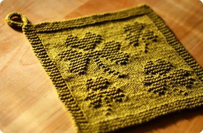 shamrock washcloth knitting pattern
