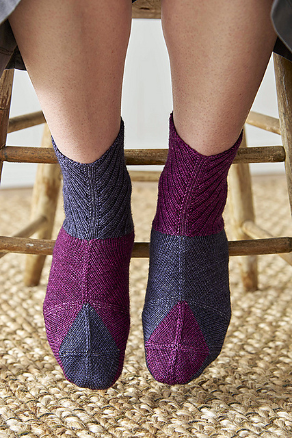 square socks knitting pattern