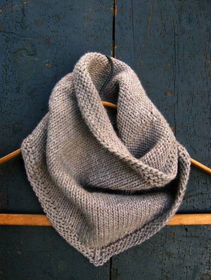 bandana cowl knitting pattern