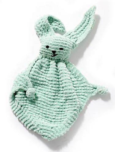 bunny buddy blanket knitting pattern