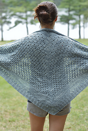 campside shawl knitting pattern