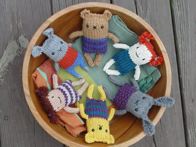 Check Out This Great Collection of Knit Amigurumi Patterns