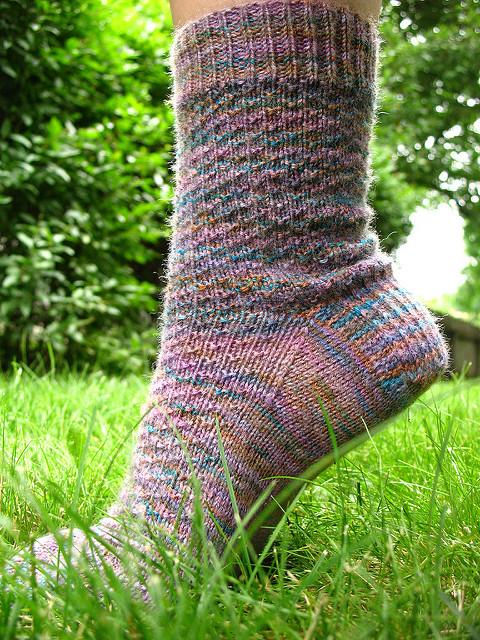 hermione everyday sock knitting pattern