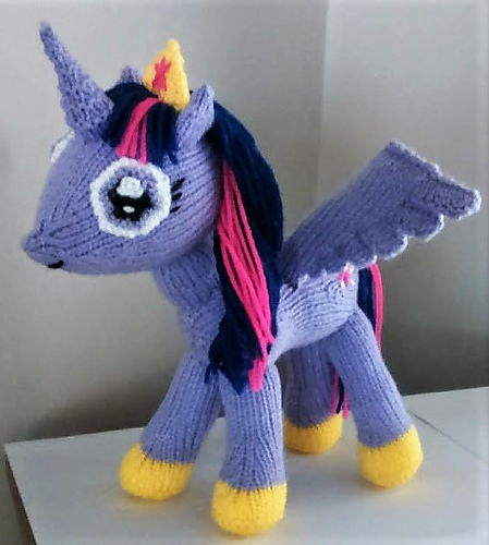 alicorn knitting pattern