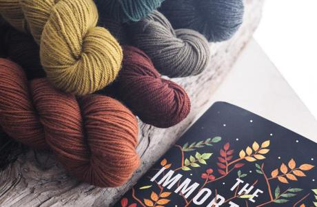 Get Yarn Inspired by a Book Cover
