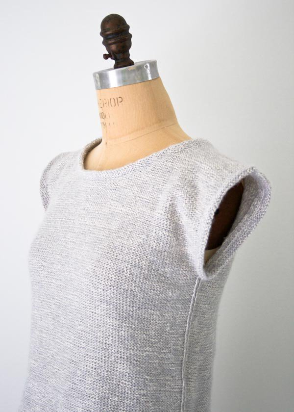 over the top top knitting pattern